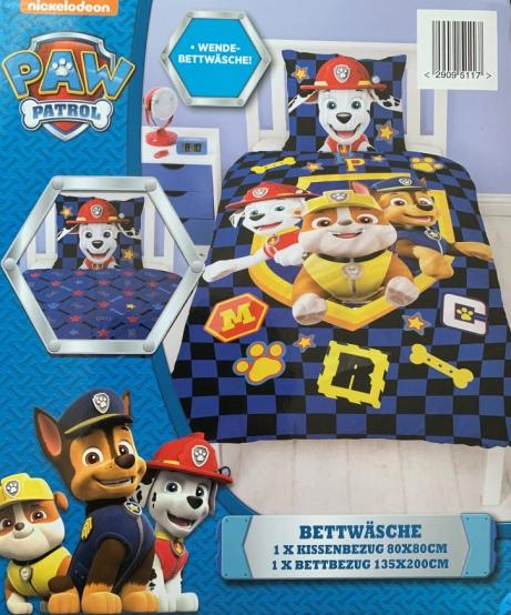 Bettwäsche Paw Patrol Feuerwehronlineshop